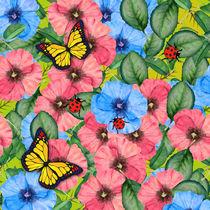 Floral scene von Gaspar Avila