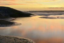 Sunset reflection by Christina Sillèn