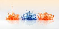 Blue Crown von Leif Benjamin Gutmann