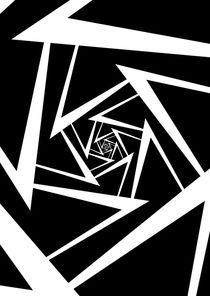 White Spiral by Melanie Mertens