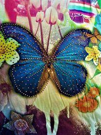 Stoffmuster - Schmetterling von assy