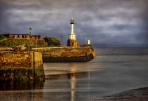 Early Morning At Maryport Harbour by Ian Lewis