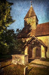 St Laurence Church Tidmarsh by Ian Lewis