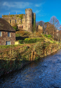 Brecon Castle by Ian Lewis