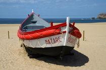 Buntes Holzboot von Iris Heuer