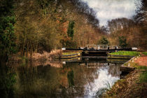 Above Sulhamstead Lock On The Kennet and Avon Canal von Ian Lewis