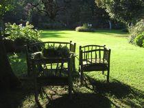 Licht und Schattiges - Im Park von Angelika Keller