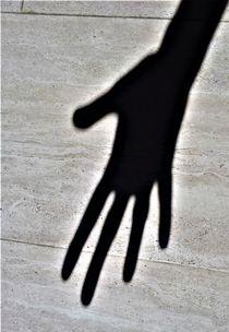 Schattenbild - Hand von assy