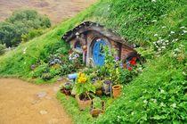 Hobbiton house doors by atelierpositif