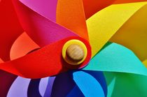 Colorful toy windmill by atelierpositif