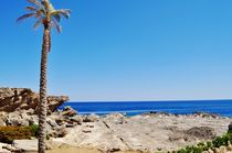 View at the Mediterranean Sea by atelierpositif