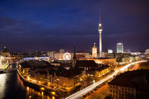 Berlin from above by Andreas Sachs