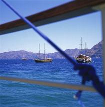 GRIECHENLAND. Santorini - Bootsfahrt. von li-lu