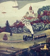 Schafbergbahn von Regine Dapra