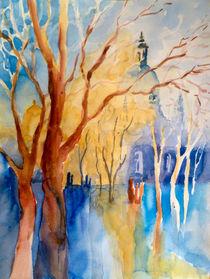 Der Weg zur Frauenkirche von Claudia Pinkau