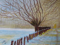 Schneeidylle - Winterzauber  by Rena Rady