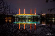 Kraftwerk Wolfsburg am Allersee von Jens L. Heinrich