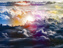 Dreamy Clouds by Sandra  Vollmann