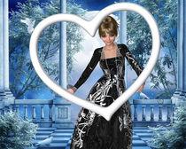 Prinzessin im Herzrahmen von Conny Dambach
