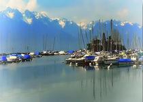 Hafen Lausanne 2 von Ditmar Brandt