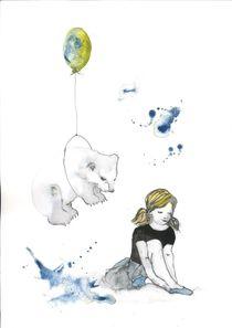 Eisbär und das Mädchen von Maria Fetsch