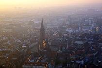 Tagesende über Freiburg von Patrick Lohmüller