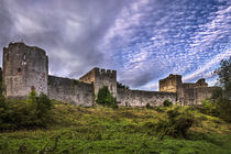Chepstow Castle Walls by Ian Lewis