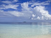 Tropical Cloudscape Reflections  by Annika  Leichtweiss