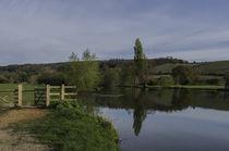 Thames path von Jim Hellier
