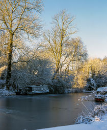Winter Canal  by Jim Hellier