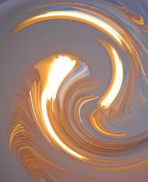 falling in gold... 2 von loewenherz-artwork