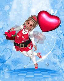 Pummelfee - Valentinstag - Liebe by Conny Dambach