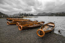 Boats at Derwent Water  by Rob Hawkins