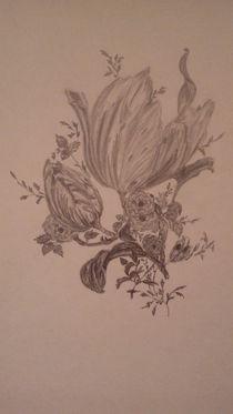 Blumenbouquet - Zeichnung von rosi-hainz