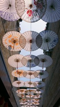 san xia ... Under the Umbrellas by Juergen Seidt