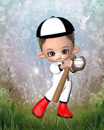 Kleiner Baseballspieler von Conny Dambach