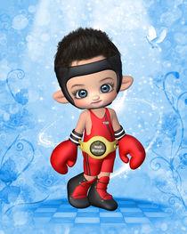 Kleiner Boxer von Conny Dambach