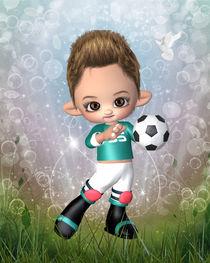 Kleiner Fussballer von Conny Dambach