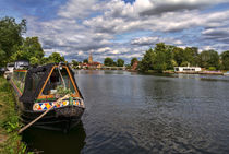 The River Thames At Marlow von Ian Lewis