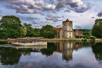 Boating At Bisham von Ian Lewis