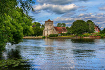 Across the Thames To Bisham Church by Ian Lewis