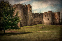 Chepstow Castle Towers by Ian Lewis