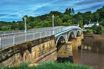 Bridge Over The River Wye von Ian Lewis