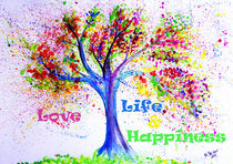 Tree of Life - Love and Happiness by M.  Bleichner