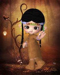 Kleine Indianerin by Conny Dambach
