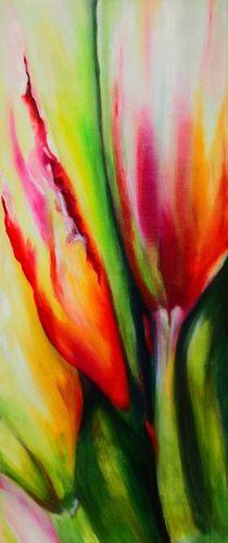 Frühling abstrakt von Jutta Ehe