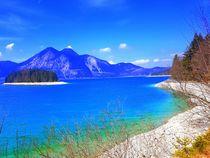 Insel Sassau -Walchensee von rewe