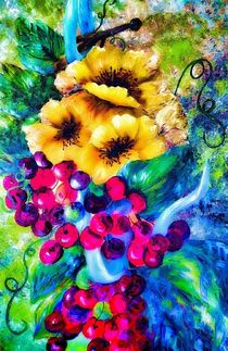 Too Delicate for Words Intense Colors by eloiseart