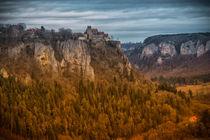 Schloss Werenwag bei Beuron I - Naturpark Obere Donau von Christine Horn