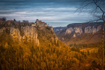 Schloss Werenwag bei Beuron II - Naturpark Obere Donau von Christine Horn